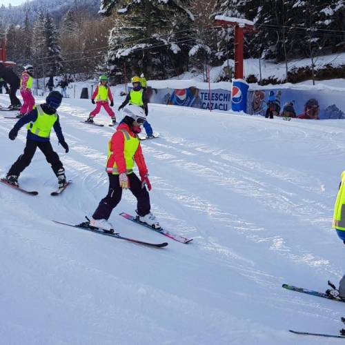 Tabăra de ski cu Smiley