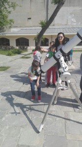 Vizita la Observatorul Astronomic